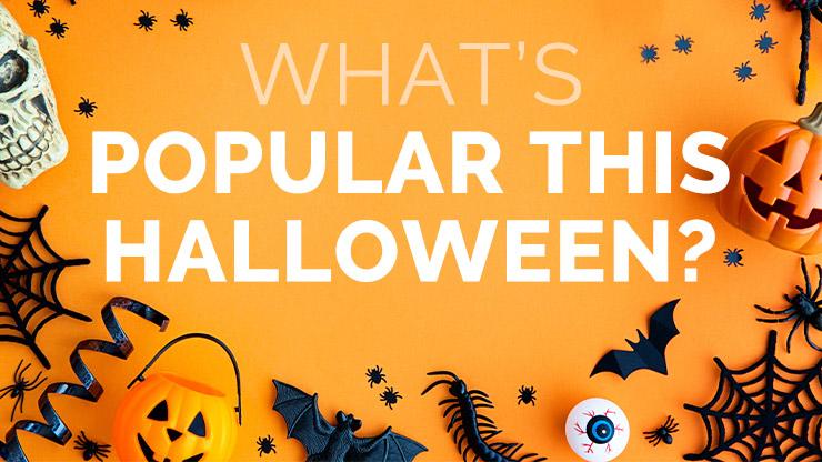 ¿Qué es popular este Halloween?