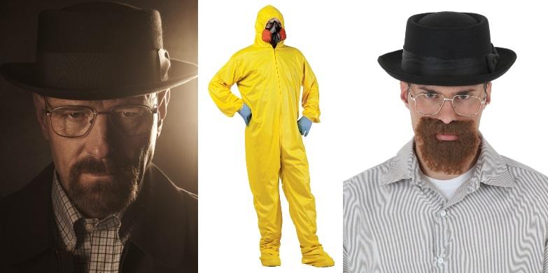 9. Disfraces de Walter White
