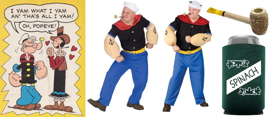 11. Disfraces de Popeye