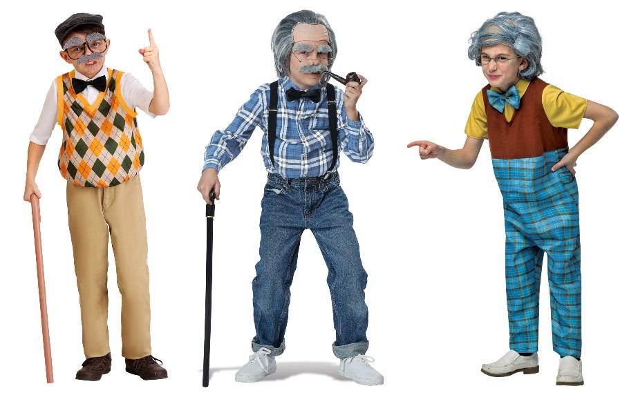 Disfraces de hombre de 100 años para niño