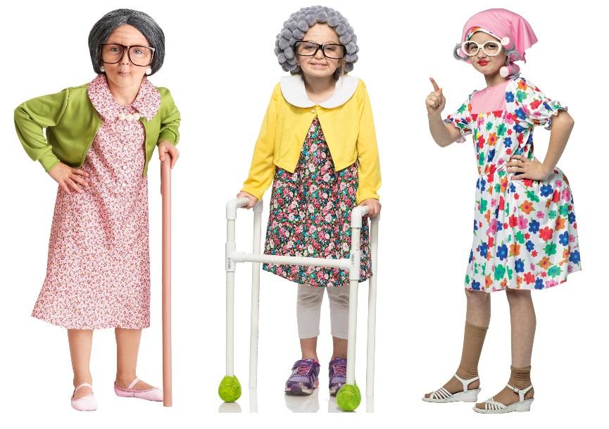 Disfraces de 100 años para niña