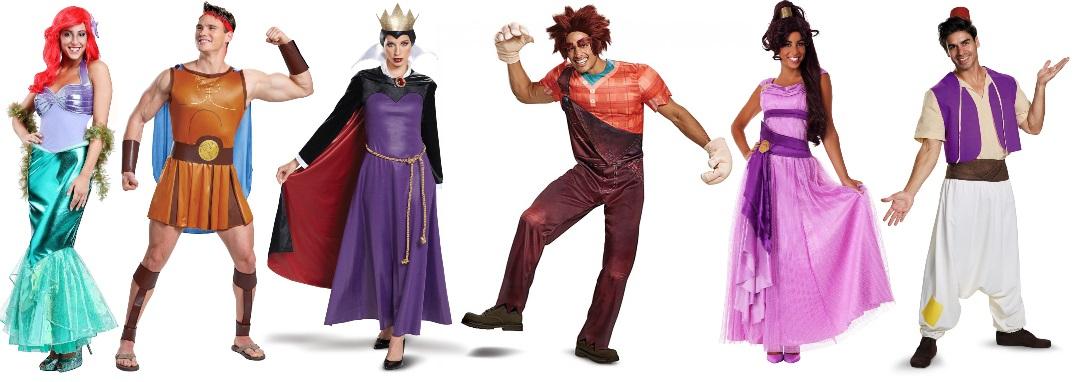 Ideas grupales de disfraces de Disney