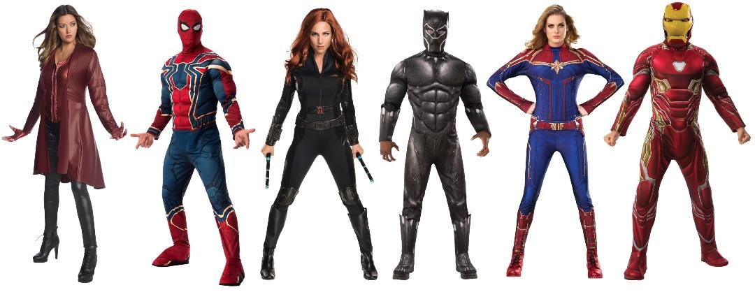 Idea de disfraz de grupo de los Vengadores