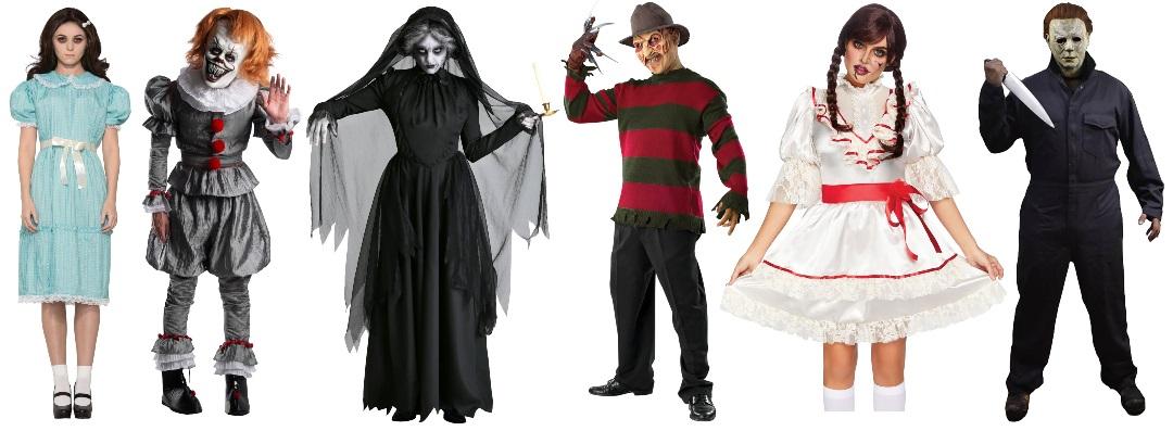 Ideas de disfraces de miedo para grupos