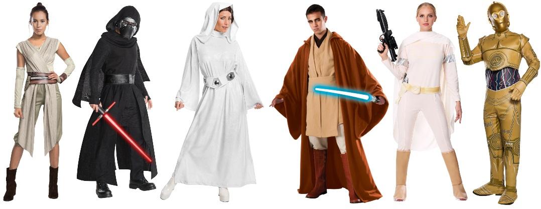 Ideas de disfraces de Star Wars para grupos