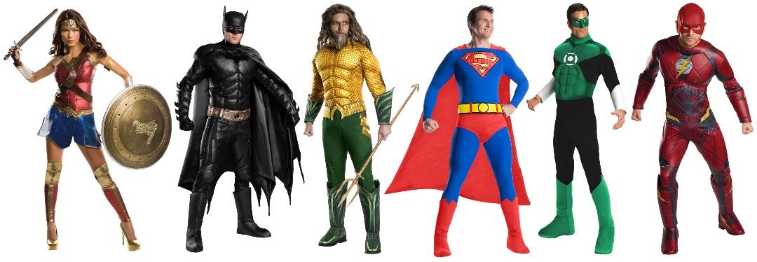 Ideas de disfraces de la Liga de la Justicia para grupos