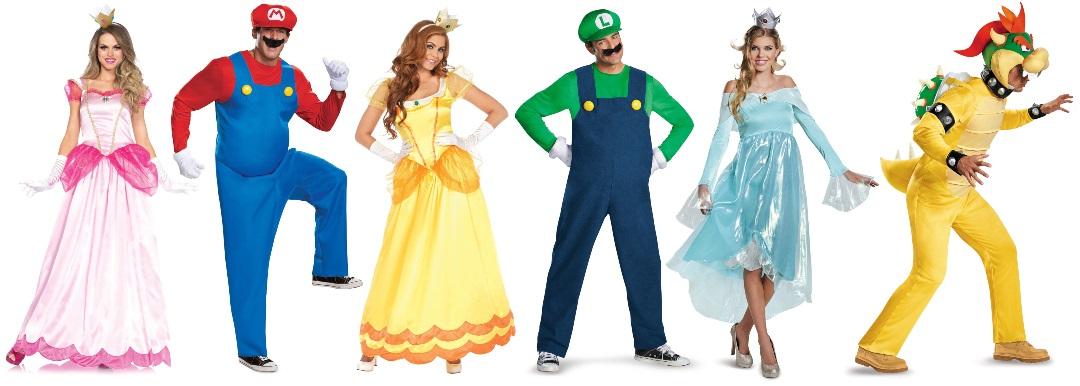 Ideas de disfraces de Super Mario Bros para grupos