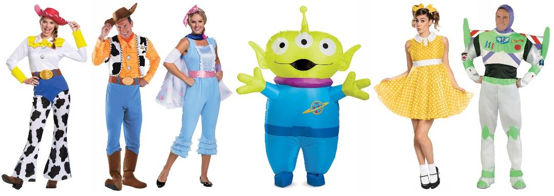 Ideas grupales para disfraces de Toy Story