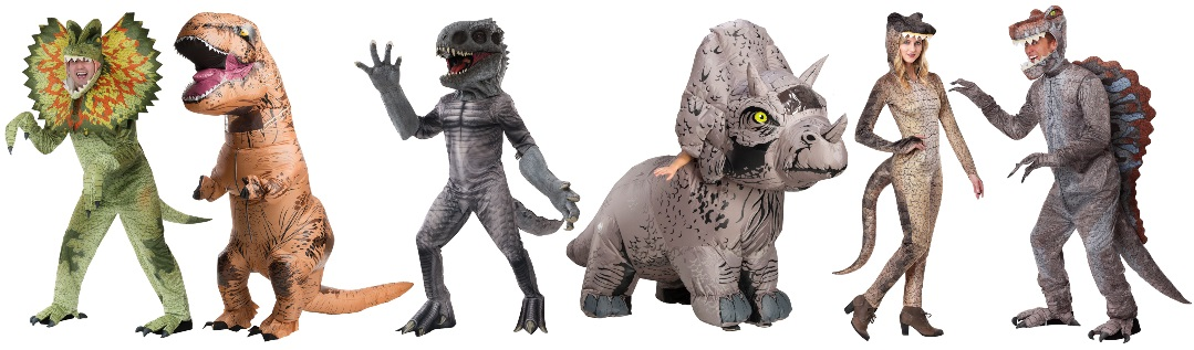 Ideas para disfraces grupales de Jurassic Park y dinosaurios