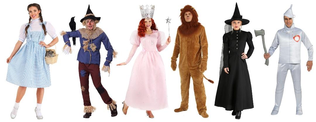 Ideas de disfraces de El mago de Oz para grupos