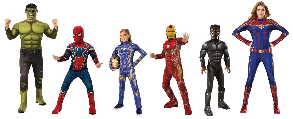 Ideas Para Disfraces De Los Vengadores
