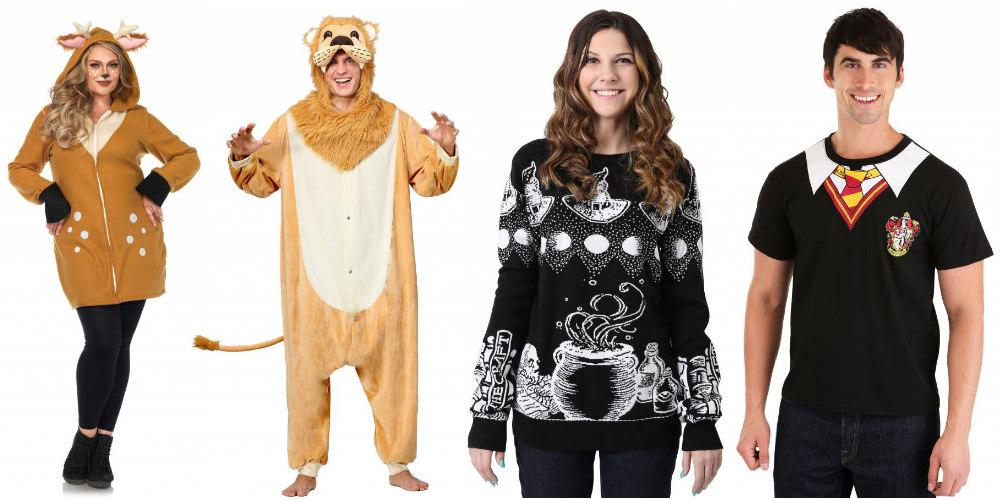 Disfraces de Halloween fáciles y de última hora: sudadera con capucha, pijama, suéter y camisa