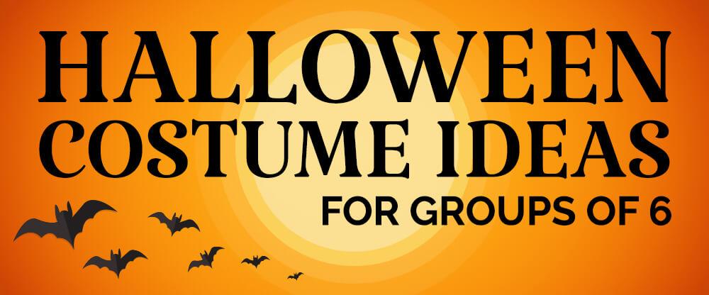 Ideas de disfraces de Halloween para grupos de 6